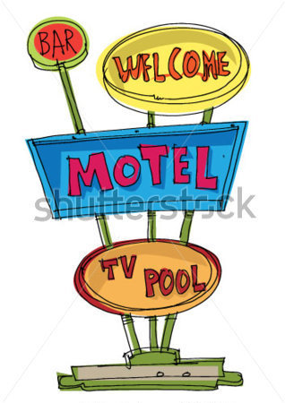 Motel Clipart.