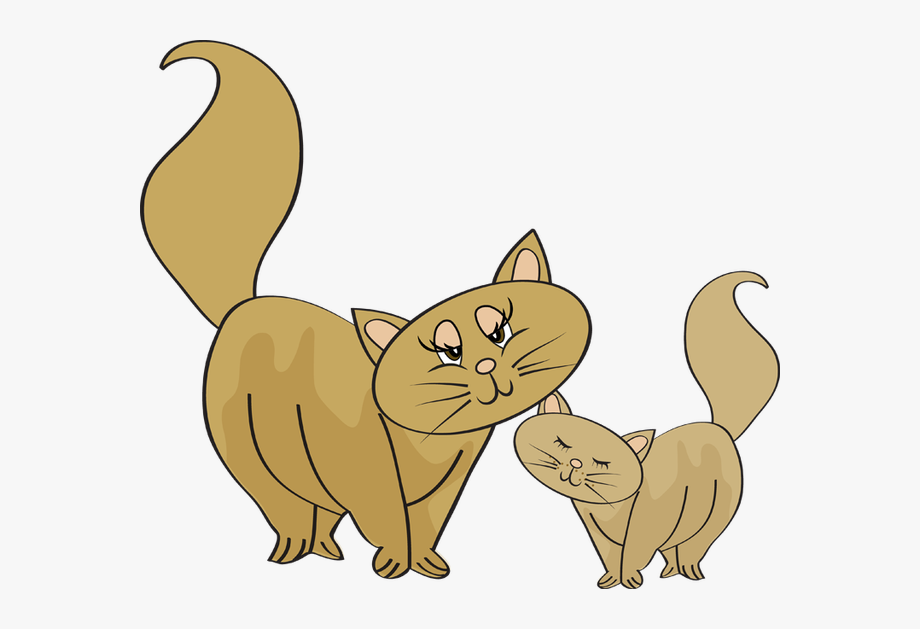 Mother Baby Animal Clipart.