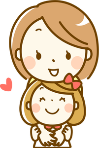 412 mother daughter clipart free.