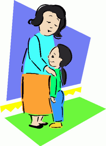 Mother And Daughter Clipart at GetDrawings.com.