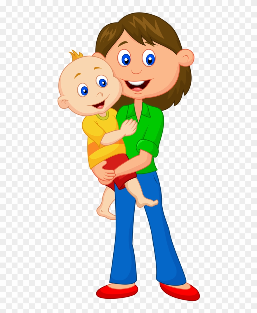 Father Mother Cartoon Png Clipart (#39797).
