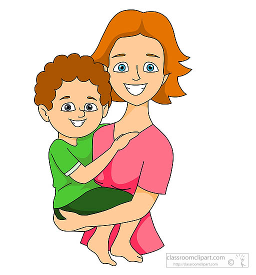 Free clipart mother.