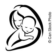 Mother And Baby Clipart Images.