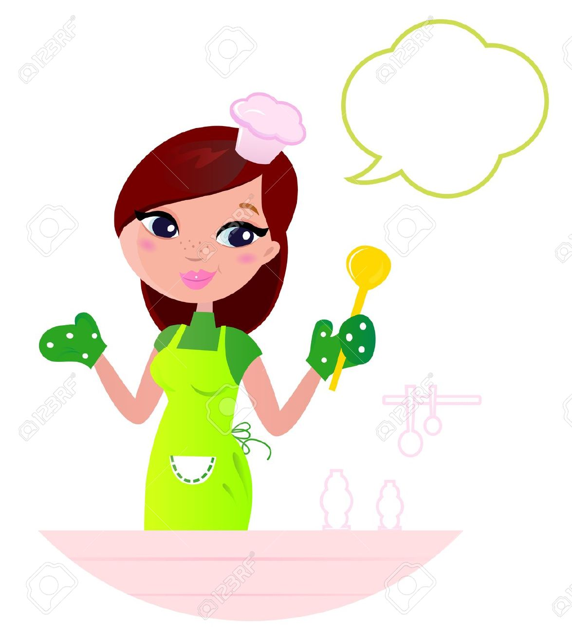 mother baking clipart - Clipground
