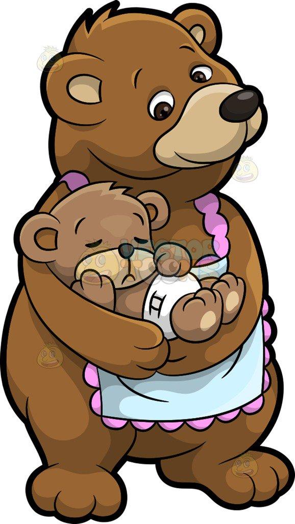 365 Mama Bear free clipart.