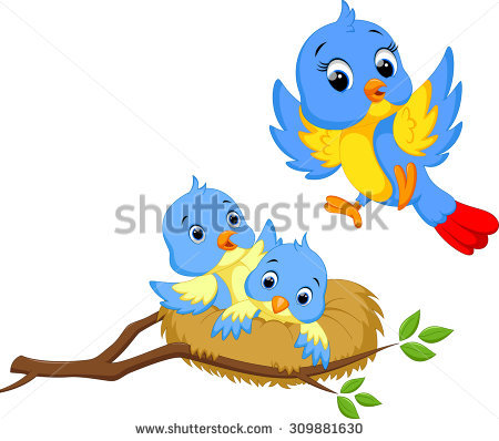 Mother Bird Stock Images, Royalty.