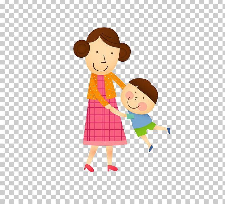 Mother Cartoon Child PNG, Clipart, Boy, Cartoon Character.
