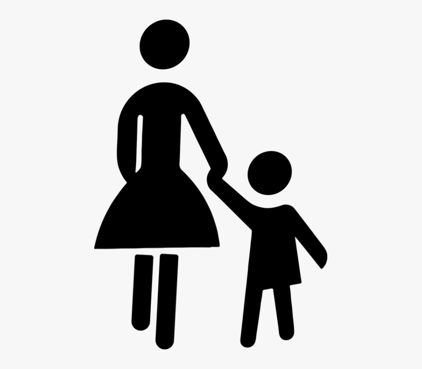 Mother Child Clipart, HD Png Download , Transparent Png.