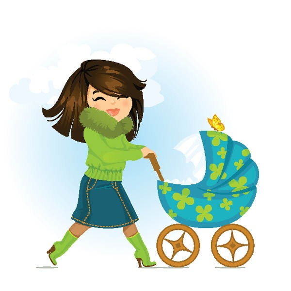 mother clipart cartoon - Clipground