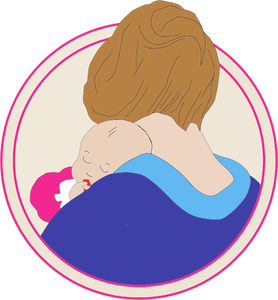 1511 free clipart mother holding baby.