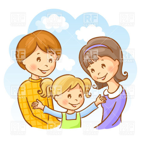Mother Father And Child Clipart (54+).