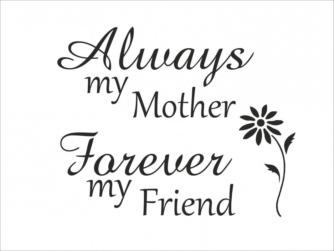 Quotes About Moms And Daughters Mother Daughter Saying Clipart  Clipground