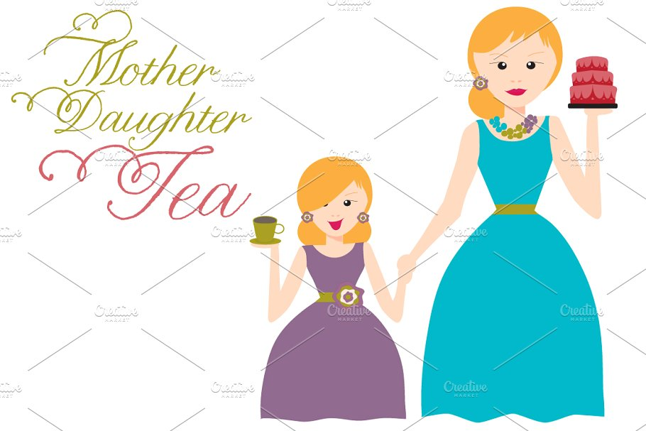 Mother Daughter Tea.