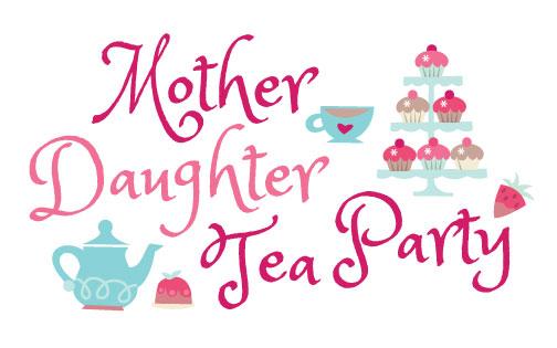 Mother and Daughter Princess Tea.