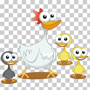 66 mother Duck PNG cliparts for free download.