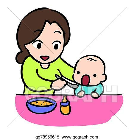 Mother feeding baby clipart 5 » Clipart Portal.