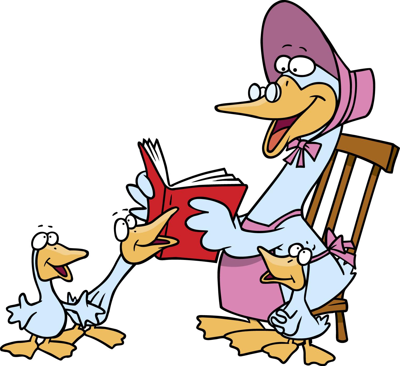 Mother Goose Nursery Rhymes Clip Art N2 free image.