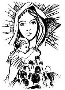 Watch more like Mother Mary Clip Art.