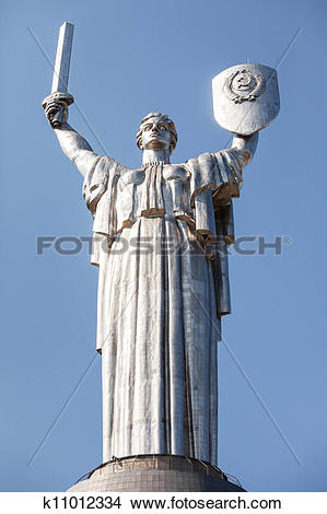 Stock Photo of Mother Motherland k11012334.