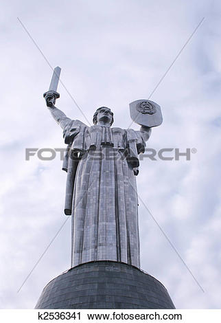 Stock Photography of Mother Motherland Monument k2536341.