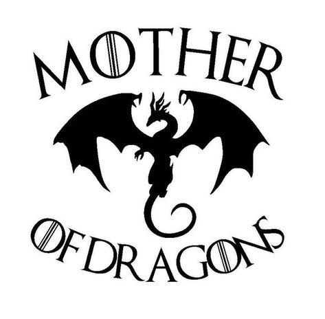 Image result for mother of dragons logo.