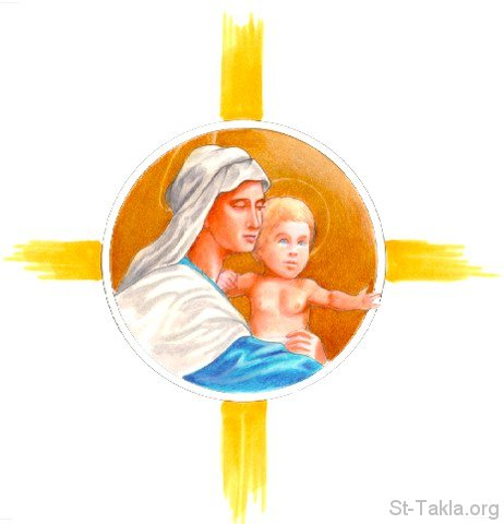 Mary mother of god clipart.