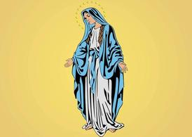 Mary Mother of Jesus, Clipart.