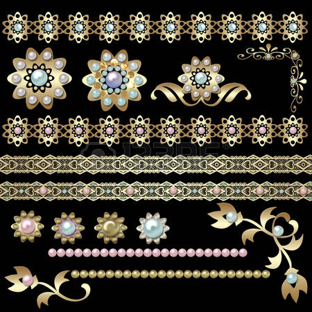 Long white gloves and pearls free clipart png.