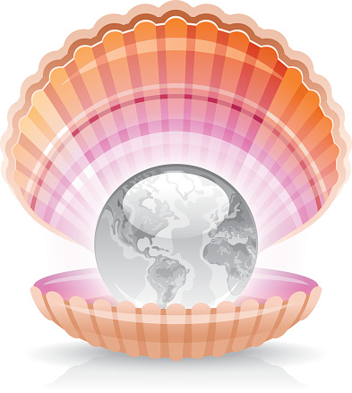 Mother Of Pearl Clip Art, Vector Images & Illustrations.