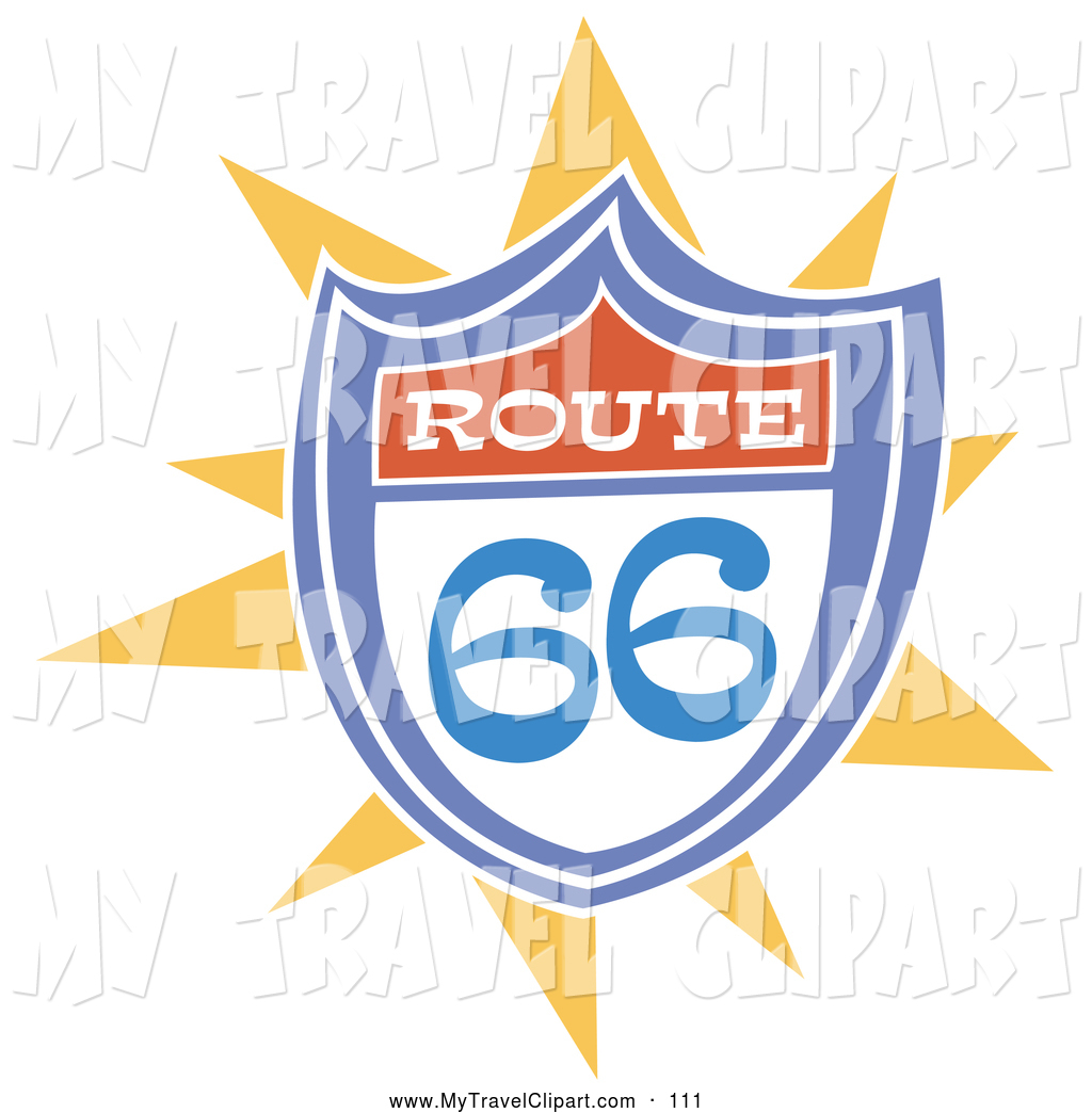 Royalty Free The Mother Road Stock Travel Designs.