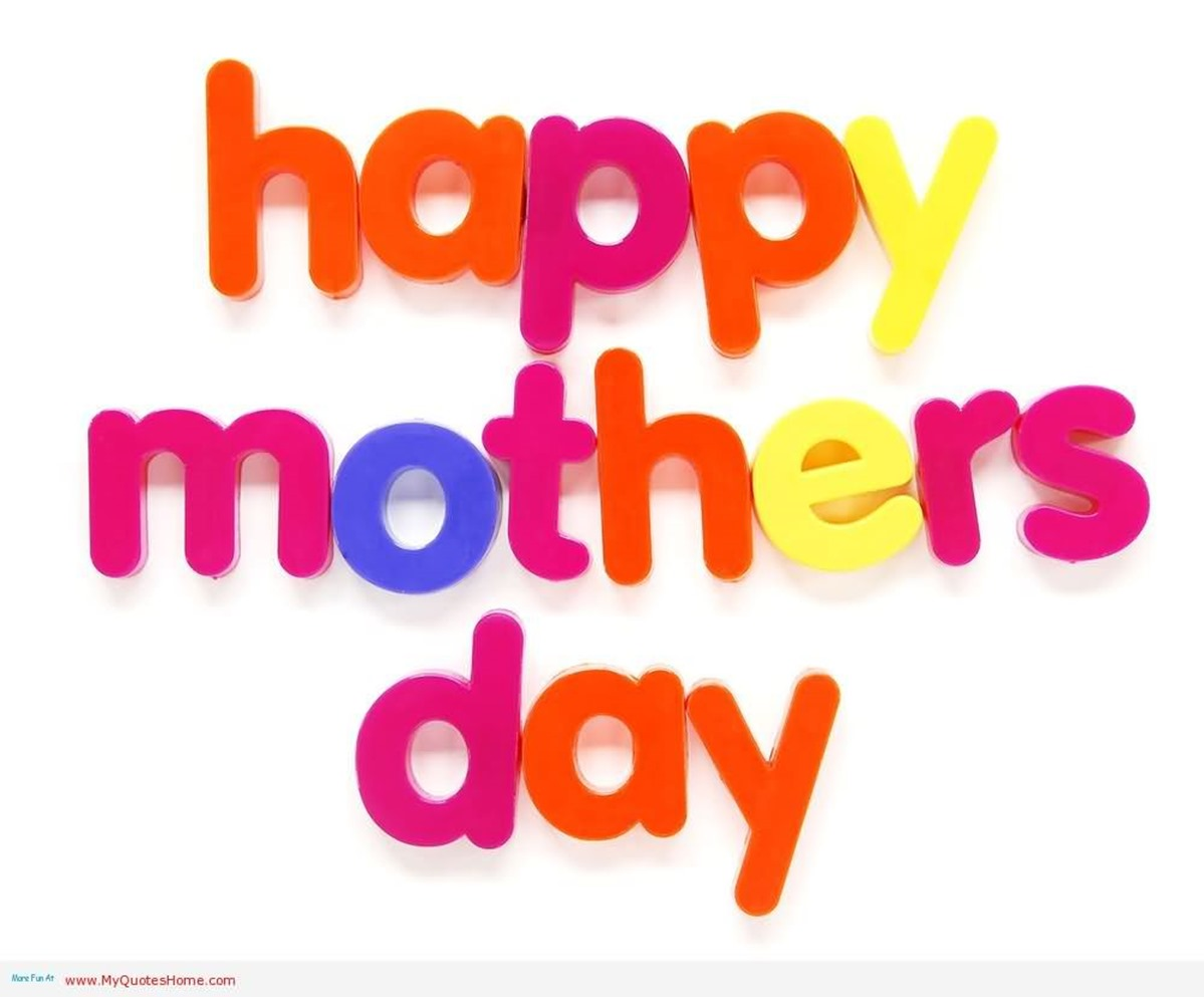 Mothers Day 2016 Clipart, Coloring Page From Son To Moms.