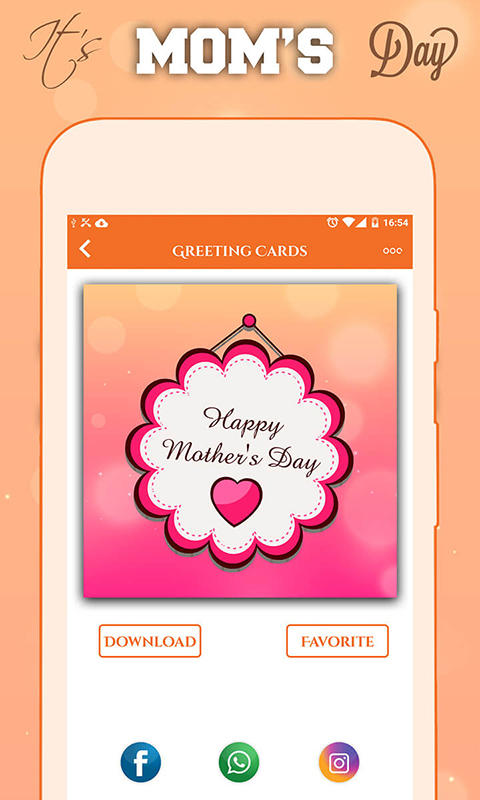 Mother\'s Day Greeting Cards for Android.