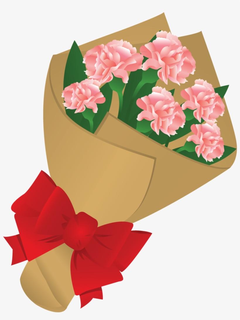 Bouquet Clipart Valentine Rose.