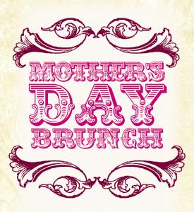 restaurant clip art mothers day brunch. holiday breakfast.