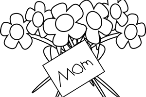 Happy mothers day clipart black and white 2 » Clipart Station.