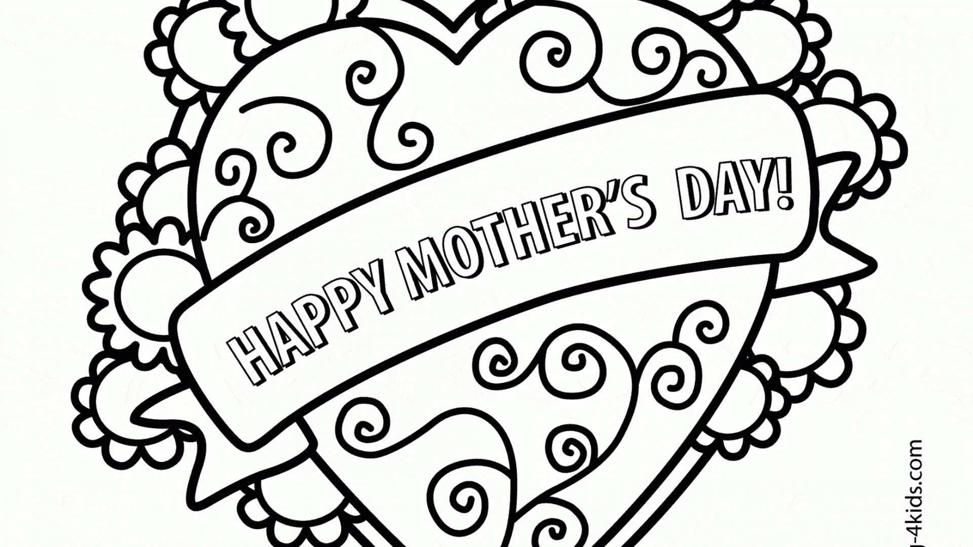 Coloring Book : Mothers Day Coloring Pages Fabulous Picture.