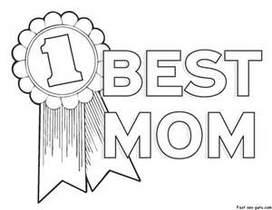 Mother\'s Day Clip Art Black and White.