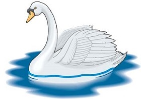 Free Swan Clipart.