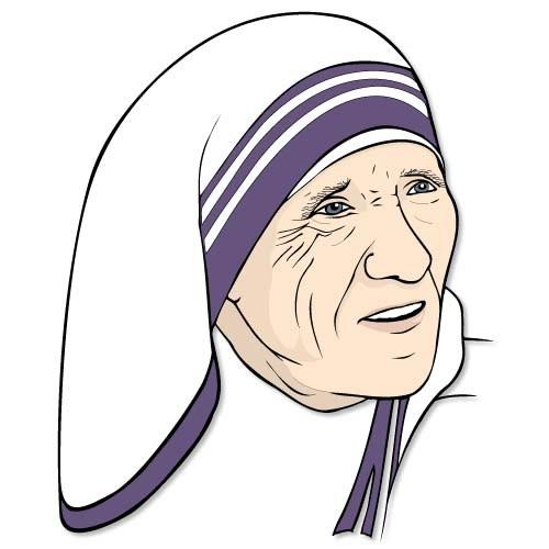 Clipart mother teresa » Clipart Portal.