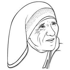 31 Best Dessin Mother teresa images in 2016.