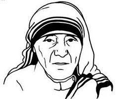 Mother teresa clipart 2 » Clipart Portal.