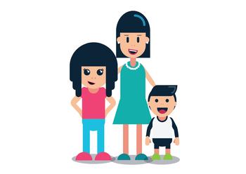 Mother & Children.