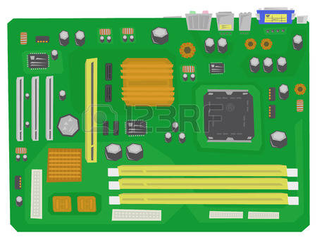 24,176 Motherboard Stock Vector Illustration And Royalty Free.