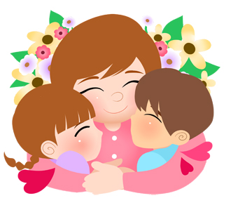 Mothers day mother clipart 2.