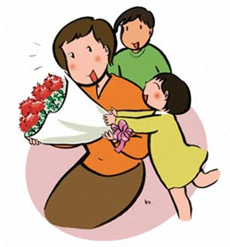 Mother's Day Clipart.