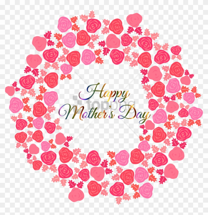 Free Png Comelyhappy Mothers Day Medium Size.