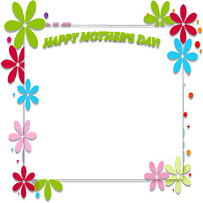 Happy Mothers Day Clipart Border Banner Free Download.