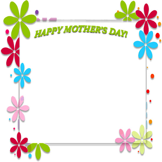 Mother\'s Day Borders.