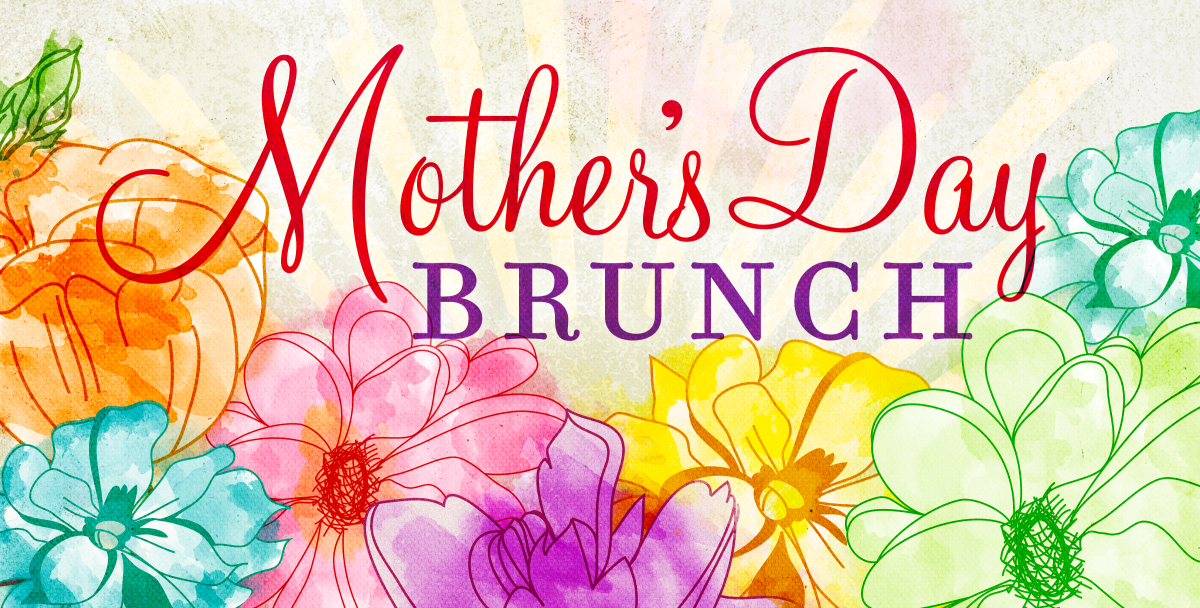 Mother's Day Brunch Clip Art.