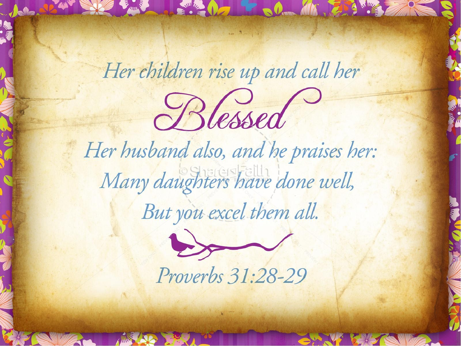 Collection of free Blessed clipart mothers day. Download on.